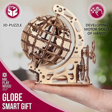 3D Mechanical Wood Puzzles
