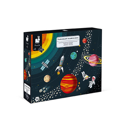 Solar System Educational Puzzle