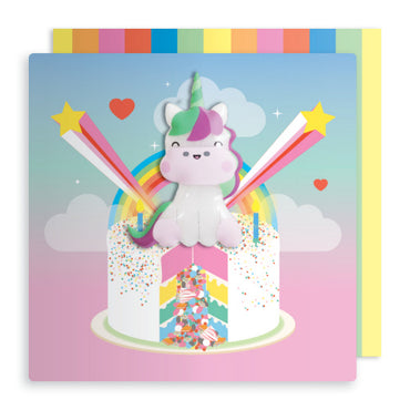 Square Jelly Magnet Card