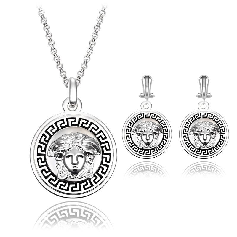 Unisex Plating Alloy Luxurious Jewelry Sets
