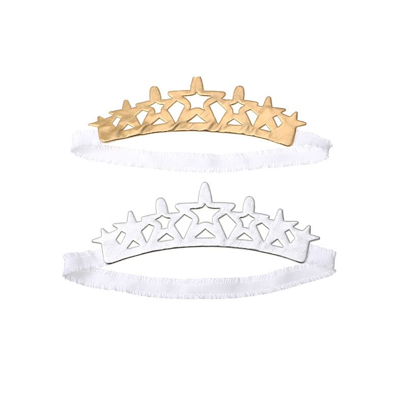 Korean Children's Birthday Crown Headband Set