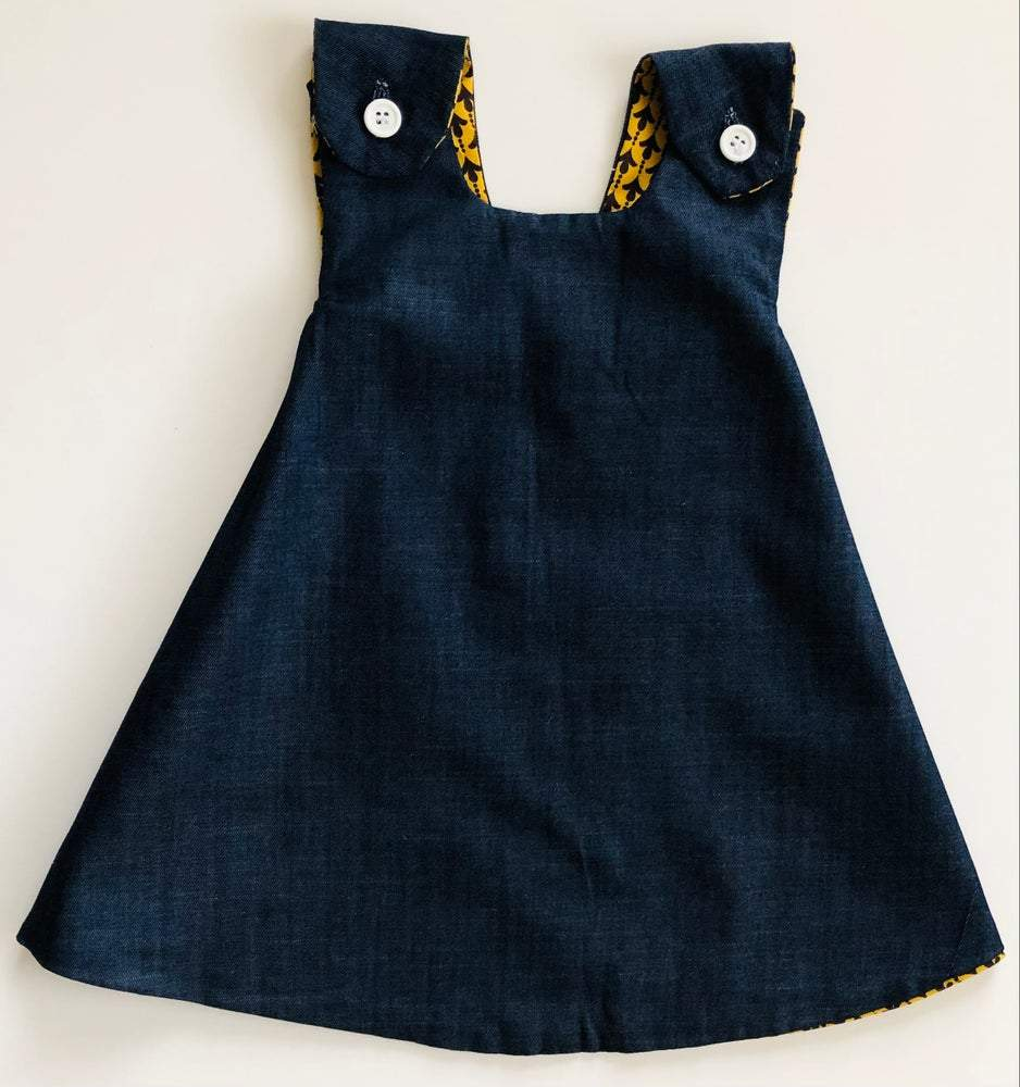 denim dress for toddlers