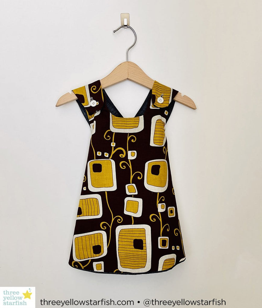 brown dress for girls