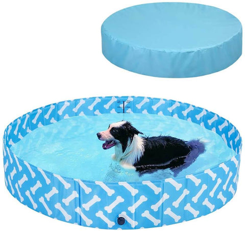 BINGPET Dog Pool with Cover