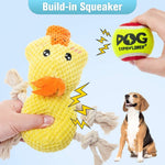 Load image into Gallery viewer, Chew Toys Cute Duck Shape Rope Toys
