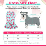 Load image into Gallery viewer, Cooling Dog Dress for Small Dogs for Summer, Girl Dog Apparel