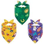 Load image into Gallery viewer, Cute Dog Bandana for St. Patrick Day/April Fools' Day/Easter, 3 Pack