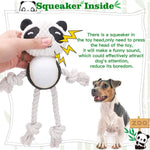 Load image into Gallery viewer, Dog Rope Toy - Cute Panda and Pig Dog Chew Toys