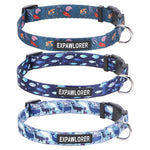 Load image into Gallery viewer, Ocean Cute Dog Collars for Small Medium Dogs, 3 Pack