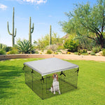 Load image into Gallery viewer, Double Side Dog Playpen Cover- Sun-Proof & Water-Proof Top