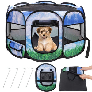 Pet Playpen for Small Animals Cats Guinea Pigs Rabbits Dog Puppy