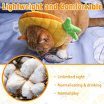 Load image into Gallery viewer, Cute Pineapple Cat Adjustable Recovery Collar
