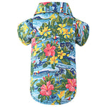Load image into Gallery viewer, Dog Print Polo Shirt - Summer Hawaii Style for Puppy