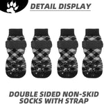 Load image into Gallery viewer, Double Side Anti-Slip Dog Socks -Adjustable Strap for Hardwood Wear