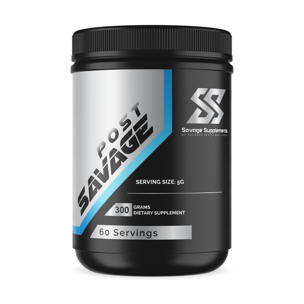 Post Savage Glutamine Powder