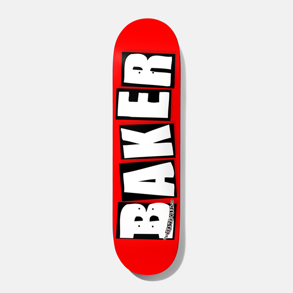Brand Logo Deck White *Multiple Sizes*