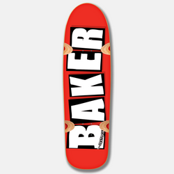 Brand Logo Cruiser Red/White 8.5""
