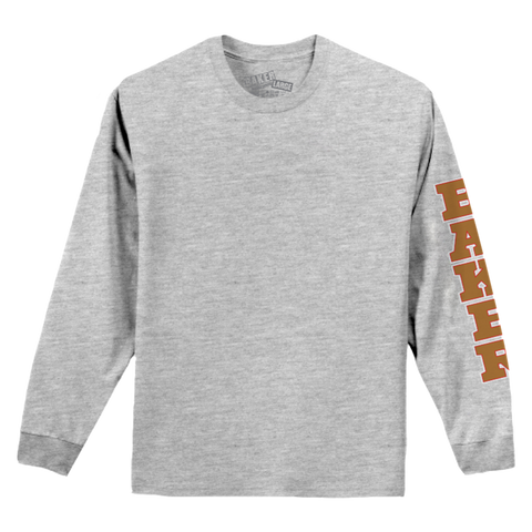 Gold Rush Long Sleeve Heather Grey