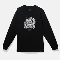Metal Long Sleeve Tee Black