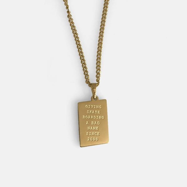 Capital B Necklace