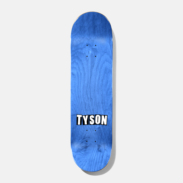 Tyson Ribbon Stack Deck Rust 8.38 B2 Shape