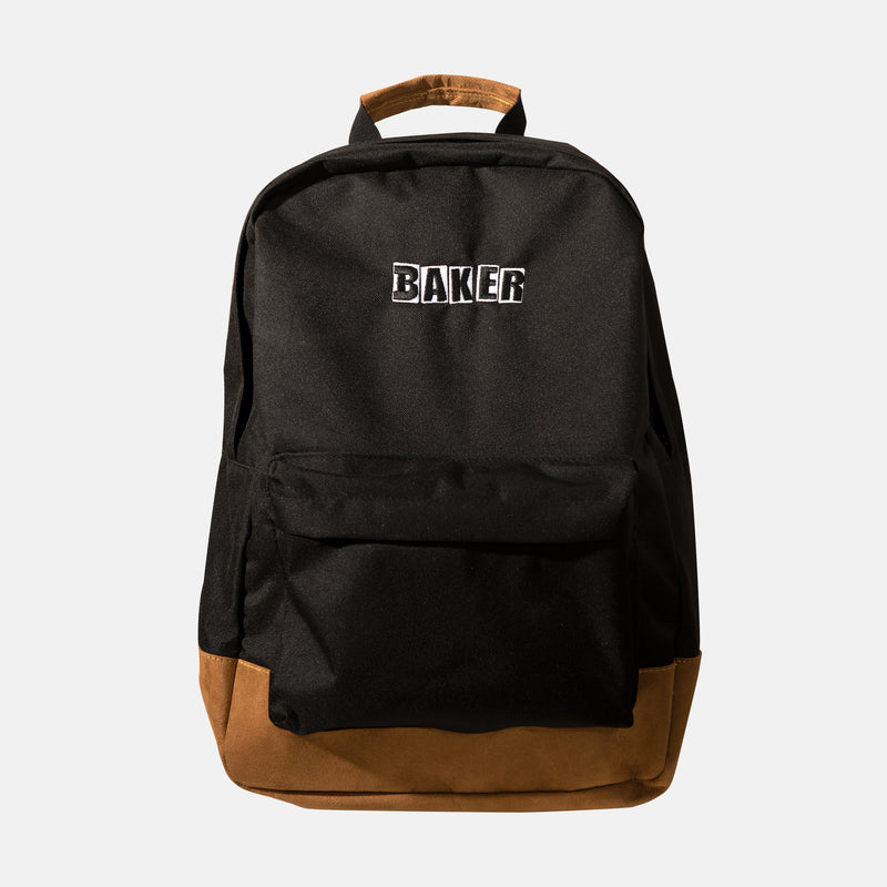Brand Logo Black/Brown Backpack