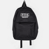 Brand Logo Black Backpack