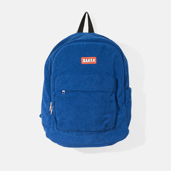 Brand Logo Backpack Royal Corduroy