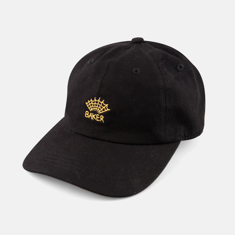 Web Black Dad Cap