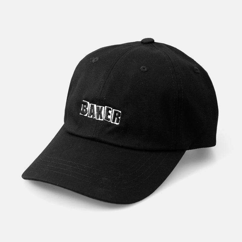 Brand Logo Black Dad Hat