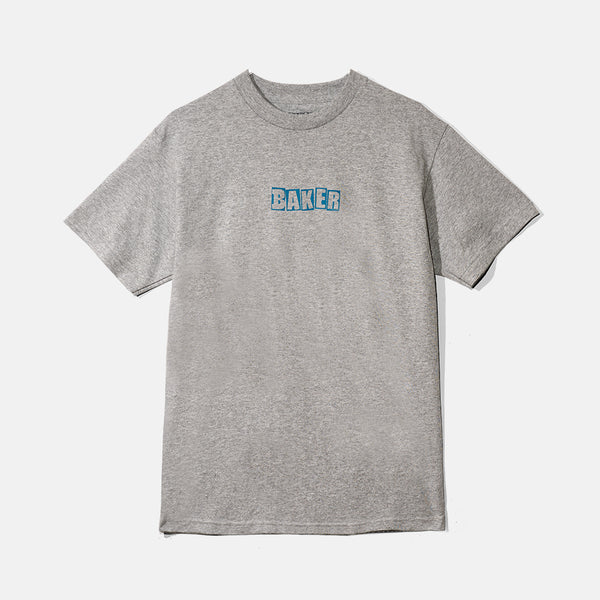 Brand Logo Heather Grey Tee