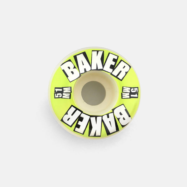 Brand Logo Lime Wheels 51mm