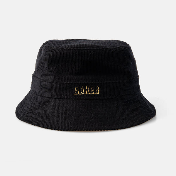 Pepper Cord Bucket Hat Black