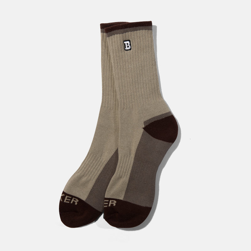 Capital B Sock Concrete