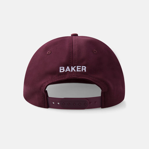 Capital B 6 Panel Maroon