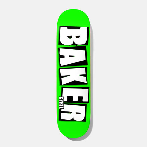 Cyril Brand Name Neon Green B² 8.25