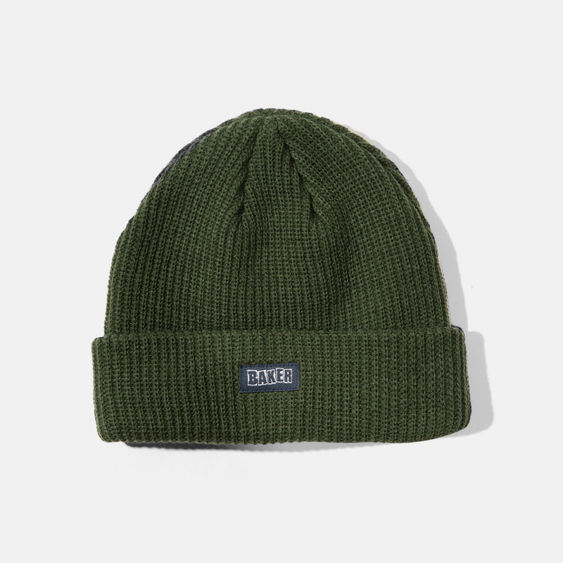 Ribbon Beanie Forest Green