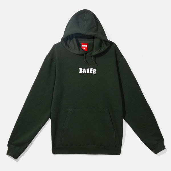 Brand Logo Pullover Hunter Green