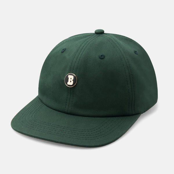 Mini B Rivet 6 Panel Hunter Green