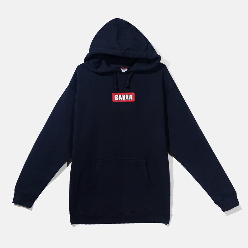Patch Hoodie Navy