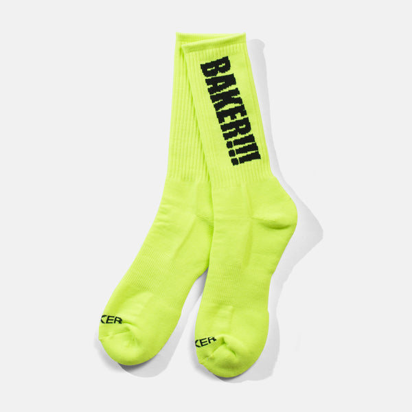 Screamer Socks Neon Green