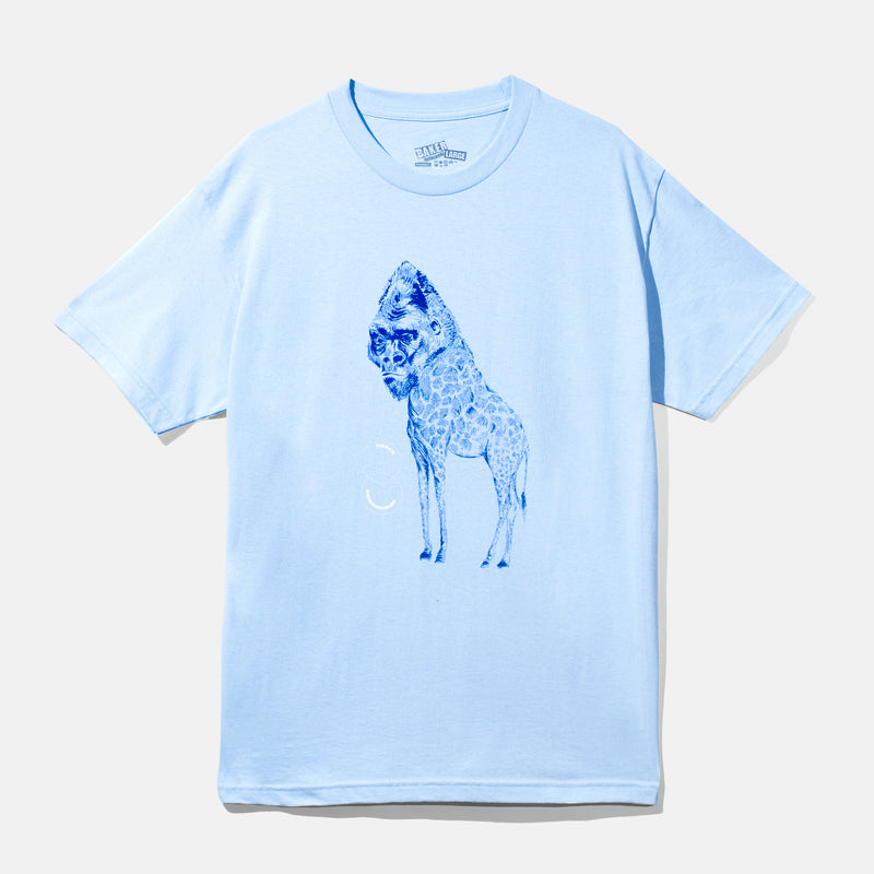 Tanks - Giraffe Light Blue Tee