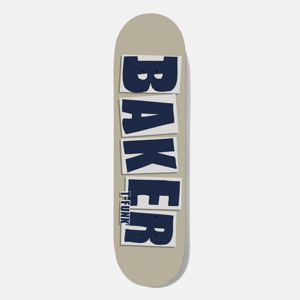 T-Funk Brand Name Taupe Deck 8.5