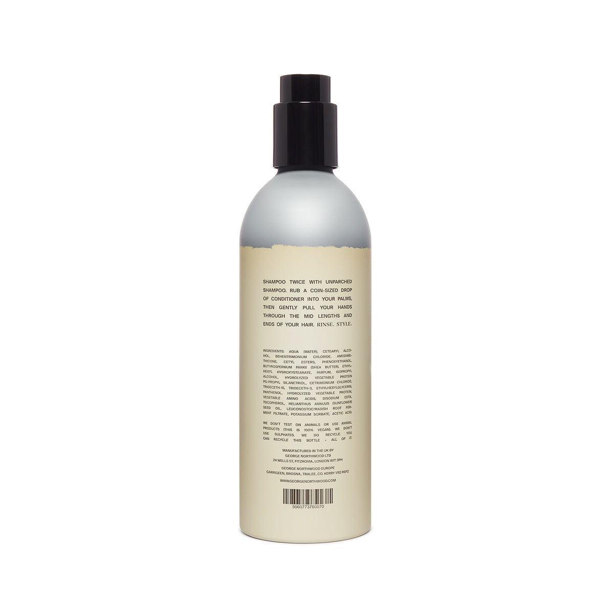 Unparched Conditioner