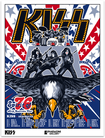 KISS • Spirit of 76 Tour