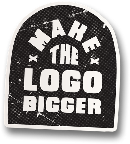 Make the Logo Bigger 02