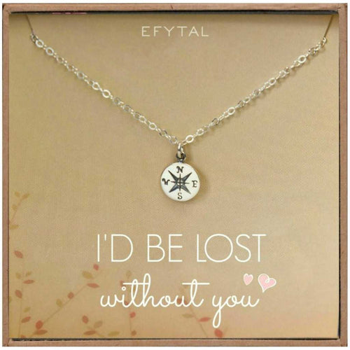 Lost Without You Necklace