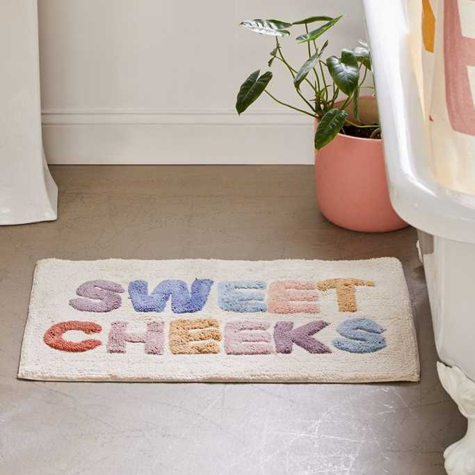 Sweet Cheeks Bath Mat