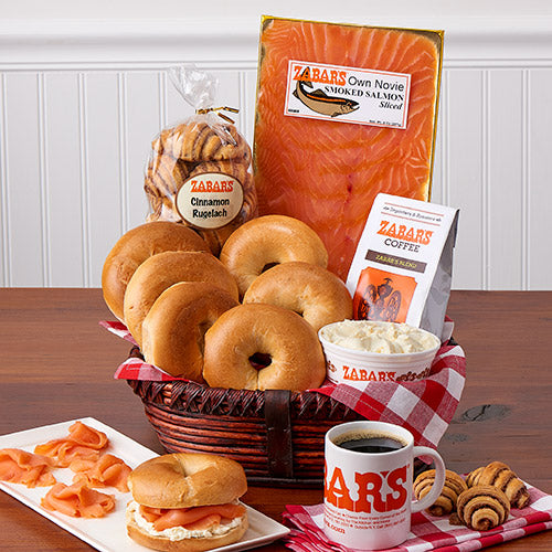 Zabar's Bagel Breakfast