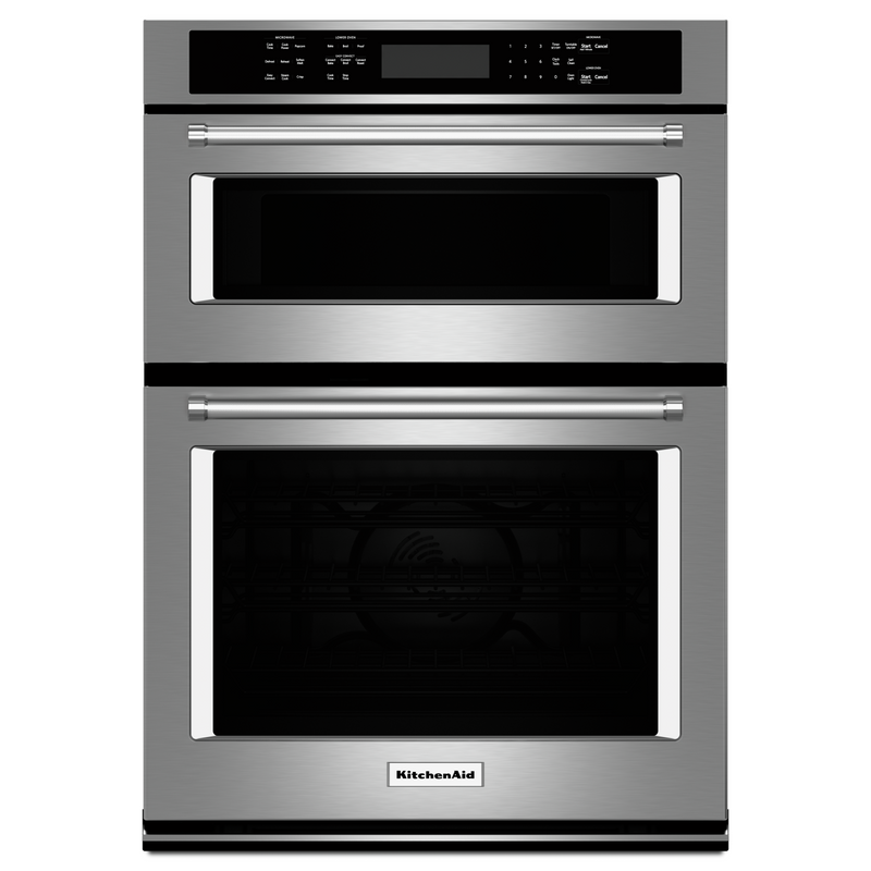 "27"" Combination Wall Oven with Even-Heat™ True Convection (lower oven) KOCE507EBS"